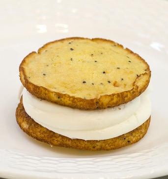 Grapefruit Poppy Seed Whoopie Pie